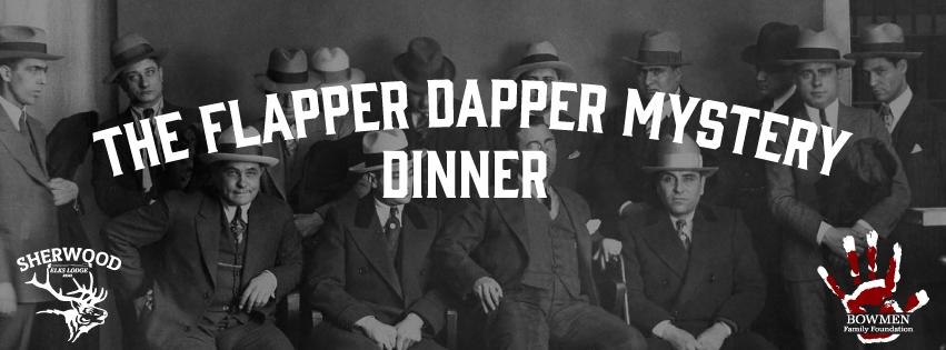 Flapper Dapper Mystery Dinner – Sherwood Elks Lodge 2/17/2018